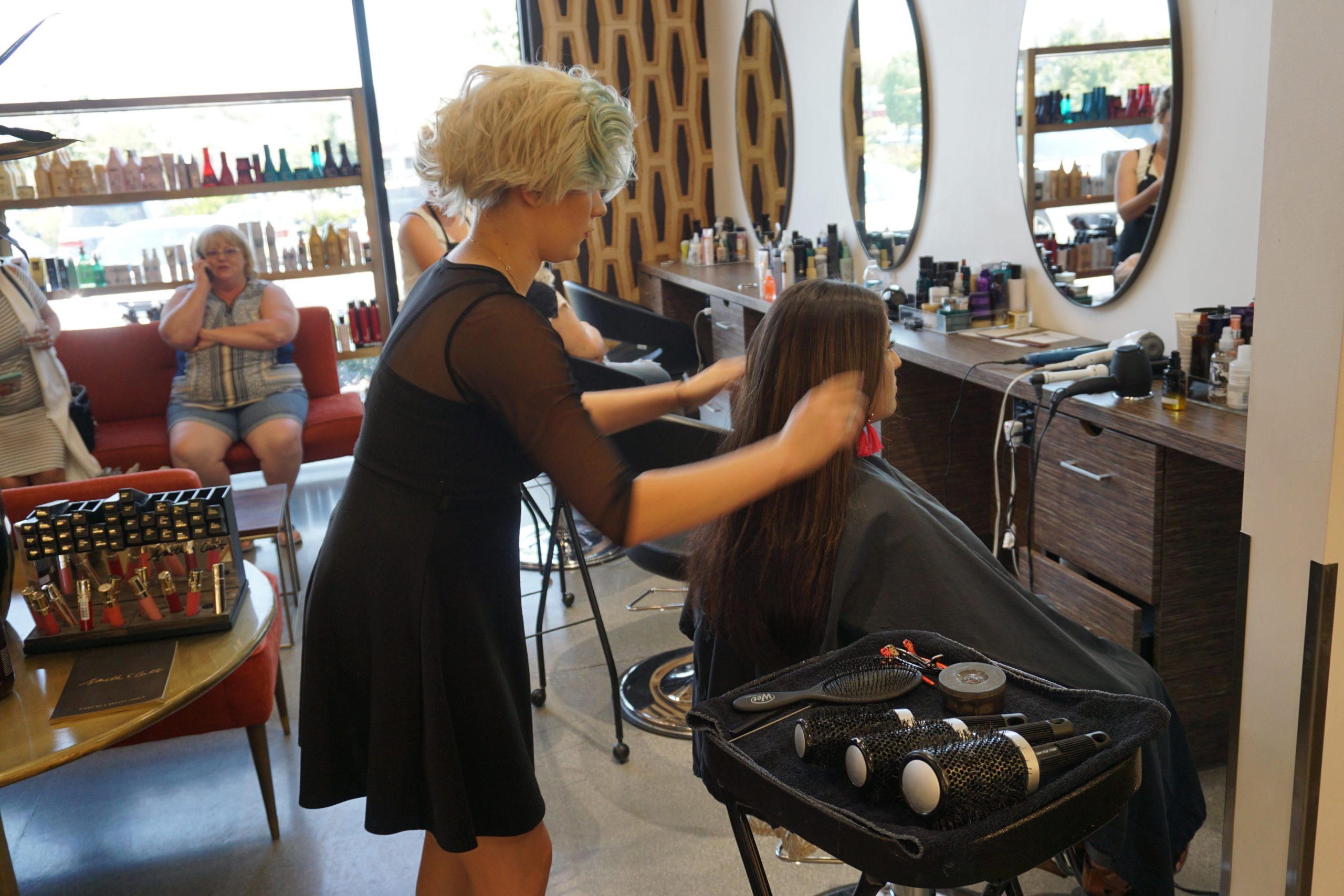 Blowouts And Braids For A Cause Atelier By Square Salon Amanda Pamblanco Las Vegas Fashion