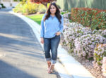 Denim on Denim Spring Outfit