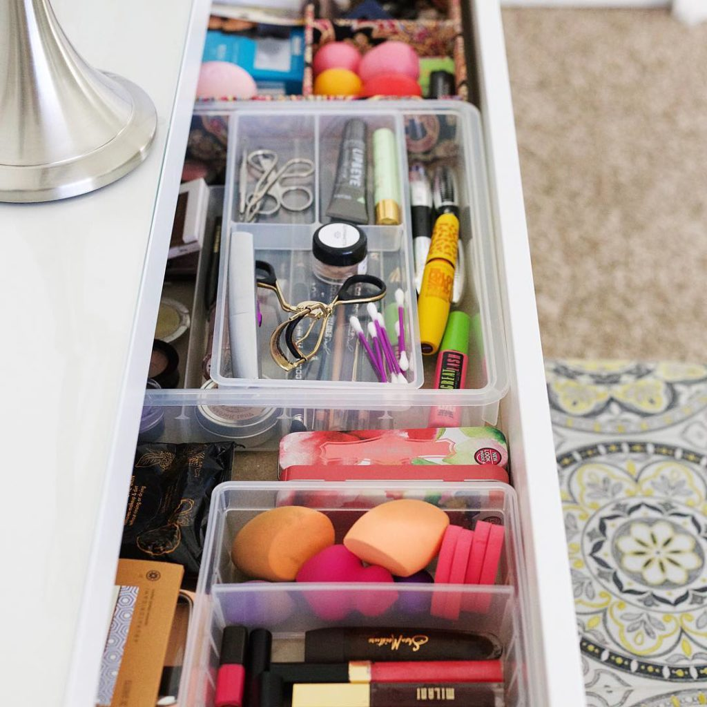 How to Organize Your Ikea Malm Vanity