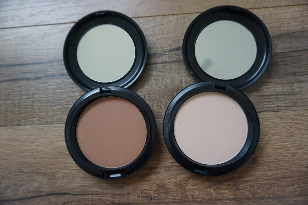 MAC Next to Nothing Foundation Swatches