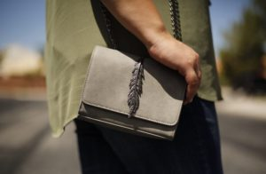The Little Grey Purse You Need